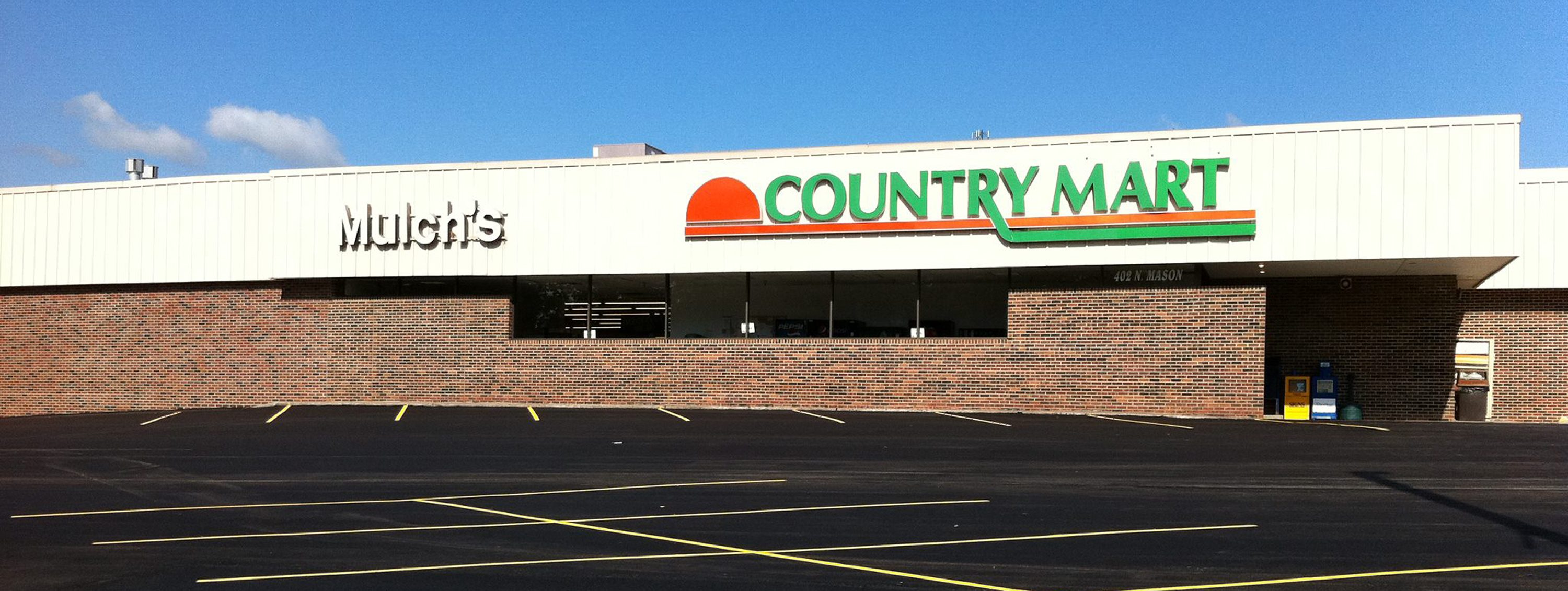 Exterior Store Front - Mulch's Country Mart
