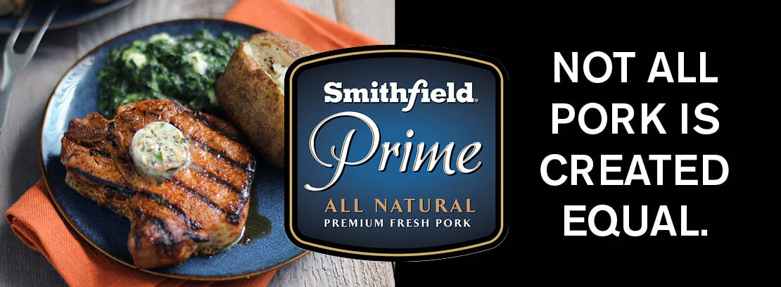 Country Mart proudly sells Smithfield Prime All Natural Premium Fresh Pork because not all pork is created equal.