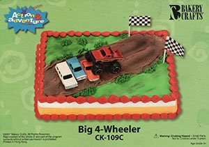 Specialty Cake Examples - Big 4-Wheeler