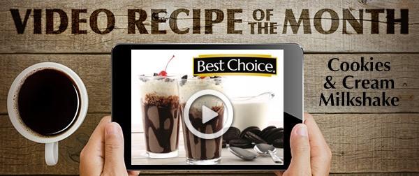 Best Choice Recipe Video: Cookies & Cream Milkshake